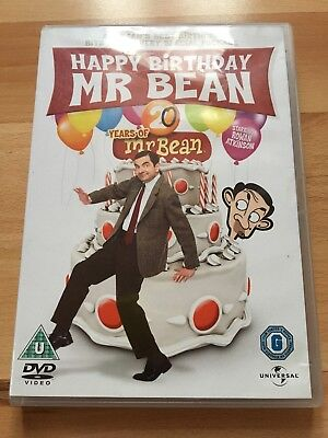 DVD - Happy Birthday Mr Bean - 20 Years Of Mr Bean