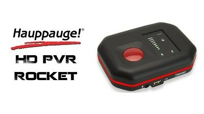 Hauppauge HD PVR Rocket Portable Game Recorder (Capture Card) USED