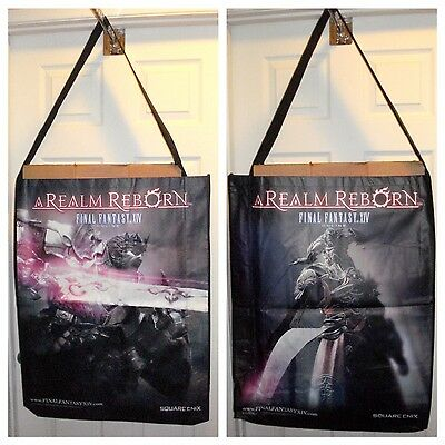 Brand New Final Fantasy FF XIV: A Realm Reborn Large Swag / Poster Bag FAST SHIP