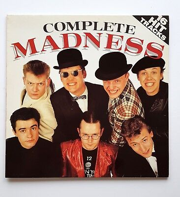 Madness - Complete Madness Vinyl LP 2Tone Ska Nutty Boys Specials Excellent Copy