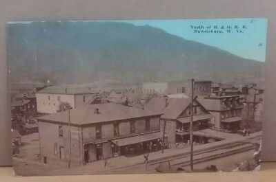 North of B. & O.,  R. R., Rowelsburg, West Virginia 1913