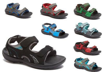 New Men's Sandals Adjust Strap Open Toe Casual Sport Beach Walking Hiking Shoes