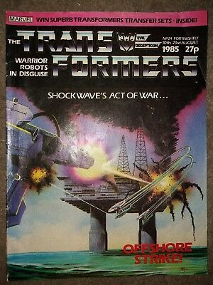 Transformers G1 Comic Issue 24
