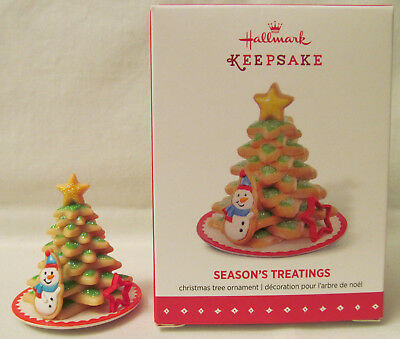 Mint 2015 Hallmark Keepsake Ornament - Season's Treatings 7th in Series w/Box