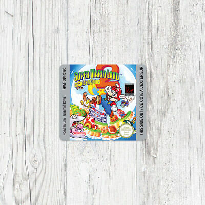 Étiquette Game Boy / Sticker : Super Mario Land 2