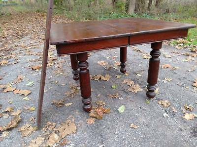 Antique Oak Kitchen Dining Oak Dining room Table ONLY PU OHIO
