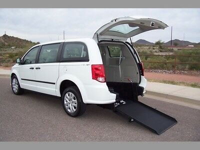 2014 Dodge Grand Caravan Handicap Wheelchair Mobility 2014 Dodge Grand Caravan Wheelchair Handicap Mobility Low Mile Van