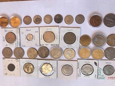 Poland Silver coins set of +26 other coins