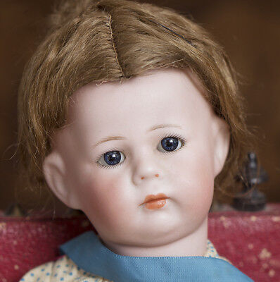 "11""Antique German Bisque Pouting Character Phillip DOll by Kammer&Reinhardt"
