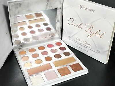 BH Cosmetics Carli Bybel Deluxe Edition Eyeshadow Highlighter Palette NEW