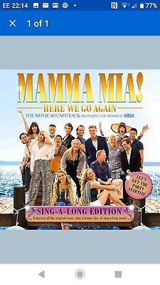 Mamma Mia 2 - Here We Go Again Soundtrack: Sing-A-Long Edition 2 Cd (23/11/2018)