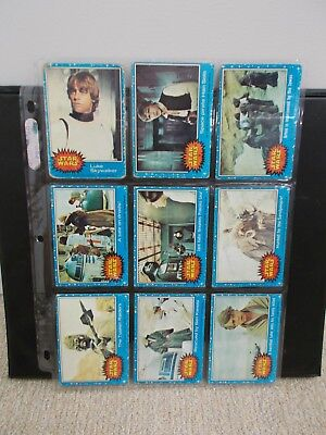 1977 Topps Star Wars Series 1-5 - 180 of 330 total