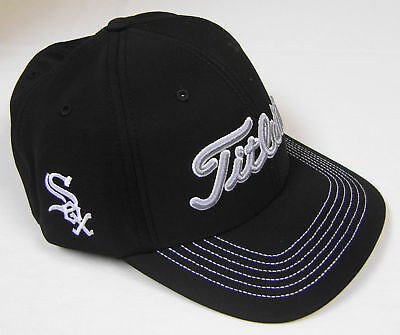 ca54cf173c2 New Titleist MLB Fitted Golf Hat Chicago White Sox Hat Medium Large M L
