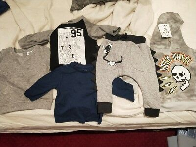 Baby Boy Winter Clothes Bundle size 0