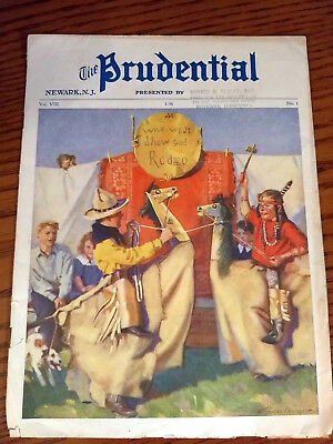 The Prudential Newark NJ 1936 Good Condition.