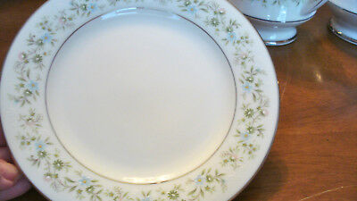 Noritake Fine China Bread and Butter Plates LOT of 8 Pattern Savannah MINT COND