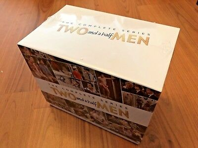 Two and a Half Men:The Complete Series DVD Seasons 1-12 brand new free shipping