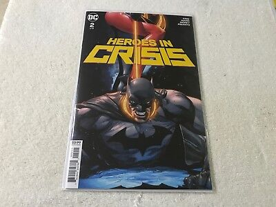 HEROES IN CRISIS 2  DC  comic book