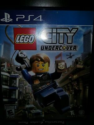 LEGO City Undercover - PlayStation 4, (PS4) Video Game