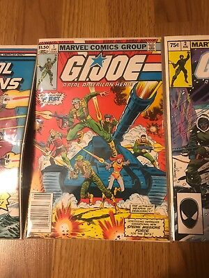 G.I. Joe, A Real American Hero #1 (Jun 1982, Marvel) With Issue 2, 49 Special 1