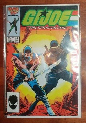 Marvel, GI Joe: A Real America Hero Comic #46 April. 1986