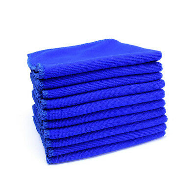 10x Microfibre Cleaning Car Detailing Soft Cloths Wash Towel Duster 30*30cm