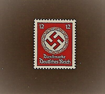MNH  postage stamp / 1942 Official / PF12 / LARGE Nazi Swastika / Third Reich