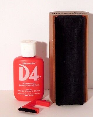 Vtg. Discwasher D4 Vinyl Record Cleaning System