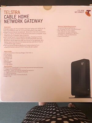Telstra Home Network Gateway  Modem Netgear CG3100D-2