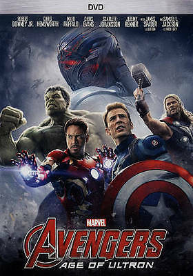 Avengers: Age of Ultron DVD, 2015 Marvel Sequel Avengers 2 - SHIPS IN 1 DAY
