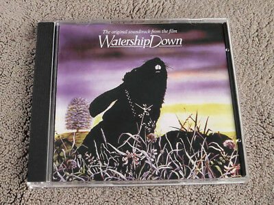 WATERSHIP DOWN - Original Motion Picture Soundtrack - CD OST Angela Morley