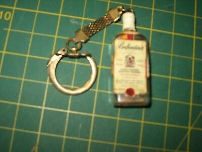 Vintage Ballantine's Whisky Advertising Old Early Key Chain Alcohol Nr