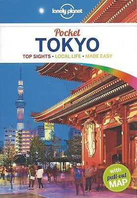 Lonely Planet Pocket Tokyo (Japan) *FREE SHIPPING - NEW*
