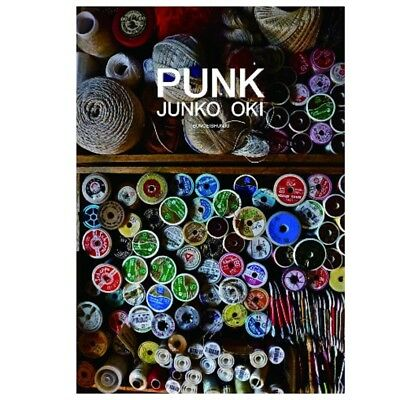 PUNK Embroidery artists Junko Oki Works Art Photo Book From Japan with tracking