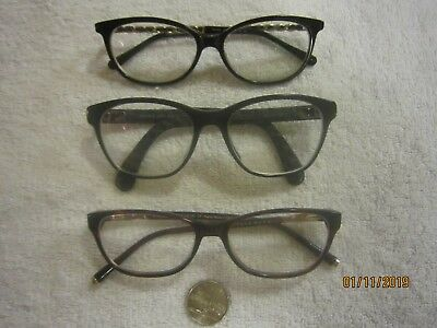 3 eyeglasses CHANEL vintage WOMEN hollywood SEXY office DATENIGHT college STONES