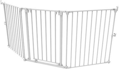 30 in. H Extra Wide Barrier Gate or Playpen Extension, White