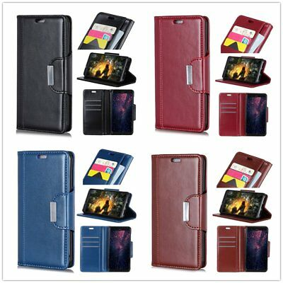 Chic Wallet Flip PU Leather Case For Sony X Compact XA XZ WIKO Sunny Alcatel