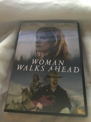 Woman Walks Ahead (DVD, 2018)**FREE SHIPPING**CHECK OUT MY STORE GREAT DEALS!!