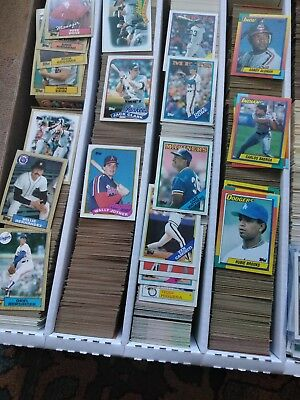 1987, 1988, 1989, 1990 Topps Baseball card You pick any 12 complete your set
