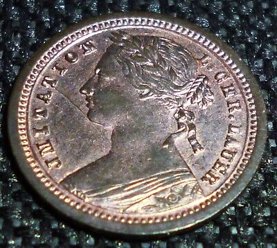 Great Britain LAUER Toy Coin 1/2  Penny NURENBERG GERMANY -  HIGH GRADE