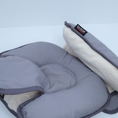 Britax Head And Body Support Pillow Reversible Stroller Or Car Seat Insert GUC