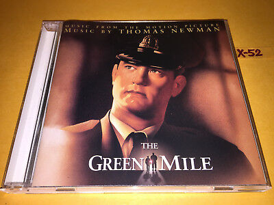 THE GREEN MILE soundtrack CD score THOMAS NEWMAN tom hanks stephen king darabont