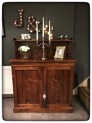 Antique Early-Mid Victorian Lovely Quality Rosewood Chiffonier/Sideboard