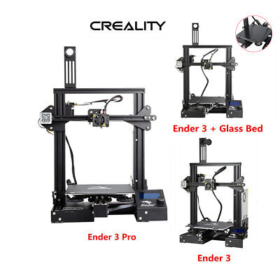 Creality Ender 3/Ender 3 Pro 3D Printer 220X220X250mm DC 24V 1.75mm PLA US Stock