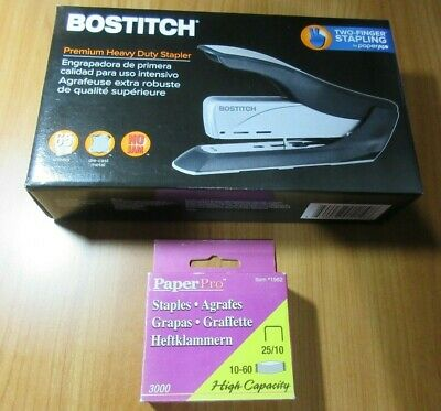 Bostitch PaperPro 1210 Professional Stapler 65 Sheet Capacity with 4000 staples