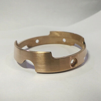 Aftermarket Tin Bronze Shroud Protection Ring for Seiko SBBN015, SBBN017 patina