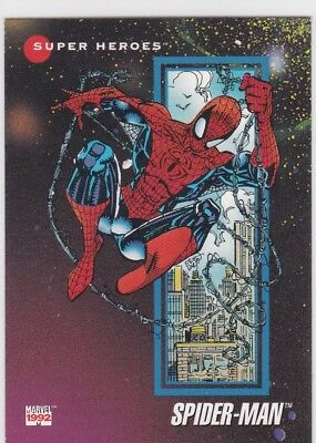 1992 Marvel; Spider-man.. Super Heroes Promo..Prototype 1  card