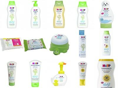 HiPP Baby Sanft Hygiene & Care: Wipes, Bath, Oil, Lotion, Sun & Wind Protection