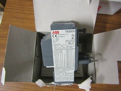 ABB Thermal Overload relay, NO/NC 2.2-3.1A, 3.1A, 2.2W TA25 - ABB 4457876