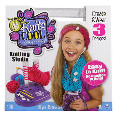 Spin Master Knit's Cool Knitting Studio  (From the creator of Kumi Kreator)